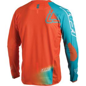 Leatt Brace DBX 4.0 Ultraweld Jersey Men Orange/Teal